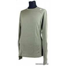 Aclima LightWool Man Shirt Crew Neck Ranger green