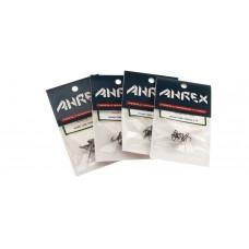 Ahrex HR 450 trekrog til rørflue str. 14