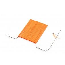 Antron Yarn Fl. Orange på kort