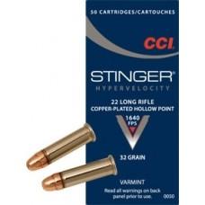 CCI 22 LR Stinger HP