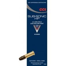 CCI 22 LR Subsonic HP