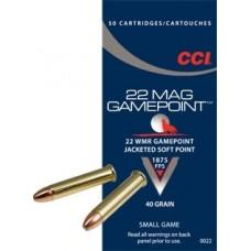 CCI 22WM 40 gr. Gamepoint