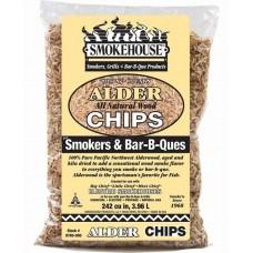 Chips n chunks Alder wood rygespåner