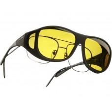 Cocoon solbrille str. L Gul glas.