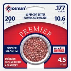 Crosman Premier 4,5mm Copper Magnum 10,6gr. 200 st