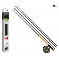 Daiwa D Trout Fly Combo 8'0