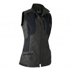 Deerhunter Lady Ann Vest Dame - Sort