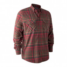 Deerhunter Marvin Skjorte - Red/Brown Check