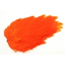 FeatherMaster Hen Saddle - Hot Orange