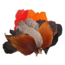FeatherMaster Rooster Cape Medium Ginger