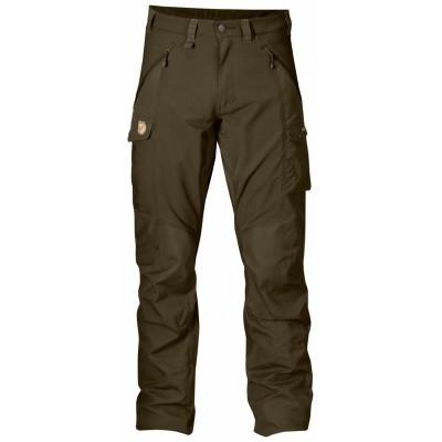 Fjallraven Abisko Trousers Dark Olive
