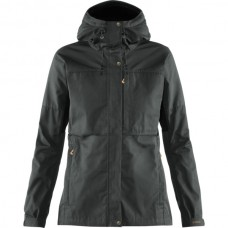 Fjallraven Kaipak Jacket W - Dark Grey/Black