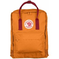 Fjallraven Kånken Burnt Orange / Deep Red
