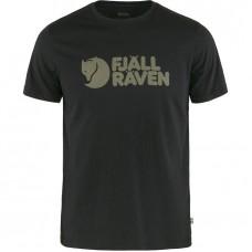 Fjallraven Logo T-Shirt M - Black
