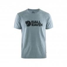 Fjallraven Logo T-Shirt - Uncle Blue-Melange