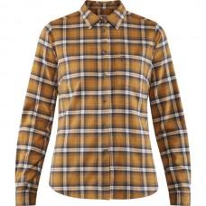 Fjallraven Övik Flannel Shirt W - Acorn