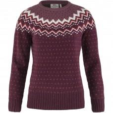 Fjallraven Øvik Knit Sweater W - Dark Garnet