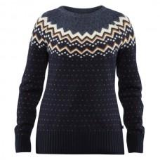 Fjallraven Øvik Knit Sweater W - Dark Navy