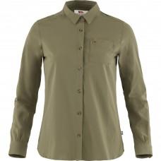 Fjallraven Övik Lite Shirt LS W - Grøn