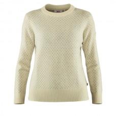Fjallraven Övik Nordic Sweater W - Chalk White