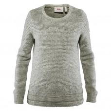 Fjallraven Övik Structure Sweater W-Egg Shell/Grey