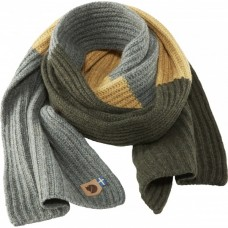 Fjallraven Re-Wool Scarf - Dark Grey