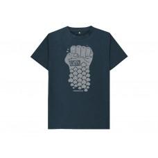 Frödinflies Organic Wild Salmon T-shirt - Blue