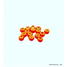Futurefly Tungsten Beads 4mm - fl. Orange