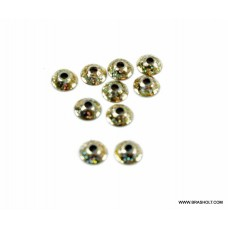 Futurefly Ufo disc 6mm-  Gold glitter