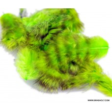 Grizzly marabou Chartreuse