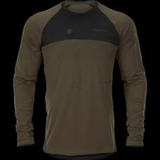 Harkila Heat L/S t-shirt - Willow Green/Black