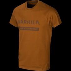 Harkila Logo T-Shirt 2-Pack- Willow Green/Rustique