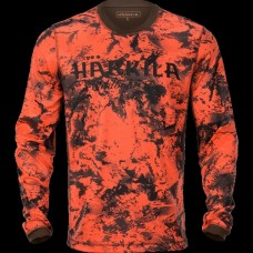 Harkila Wildboar Pro T-shirt AXIS - Blaze/Shadow