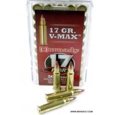 Hornady 17 HMR 17gr. V-Max 50 stk