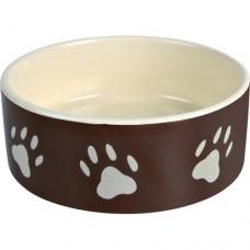 Keramikskål m/Poter Brun 1,4