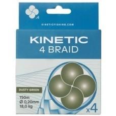 Kinetic 4Braid 150m 0,14