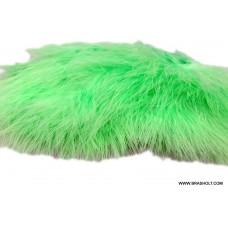Marabou blood quill fl.green