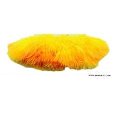 Marabou blood quill fl orange
