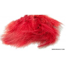 Marabou blood quill red