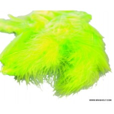 Metz Soft hackle Chartreuse