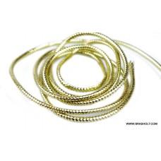 Mylar Tubing Gold #M