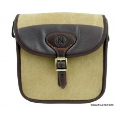 NordHunt Safari Patrontaske Canvas/Læder