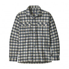Patagonia L/S Fjord Flannel Shirt - Oister White
