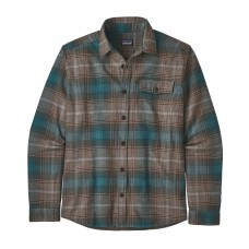 Patagonia L/S LW Fjord Flannel Shirt - B. Brown