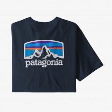 Patagonia M's Fitz Roy Horizons Tee - New Navy