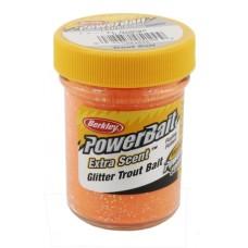 Powerbait Natural scent Garlic FL orange