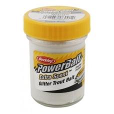 Powerbait Natural scent Garlic White