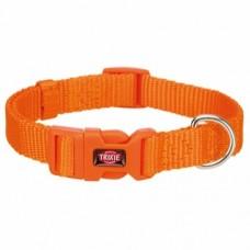 Premium halsbånd S-M 30-45 cm/15mm Orange