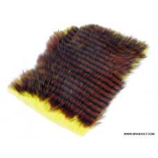 Rabbit Yellow/Brown - Black Barrows