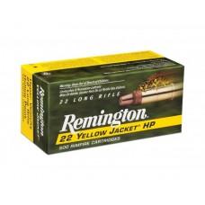Remington 22 lr. Yellow Jacket HP HV
